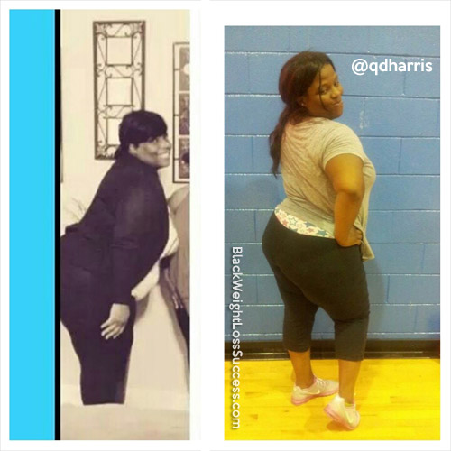 Quiana before and after