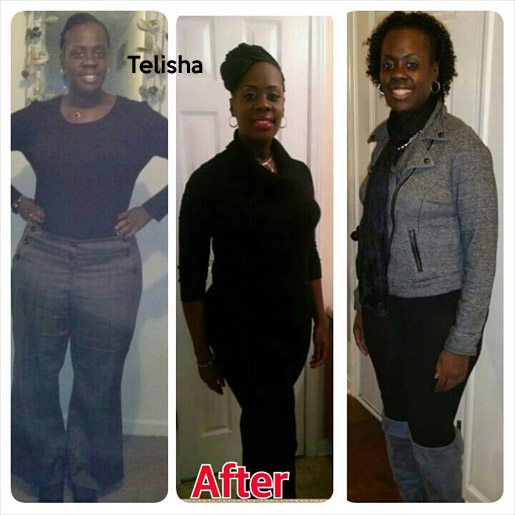 telisha before and after