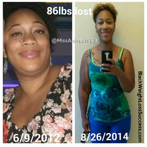 Andrea weight loss story