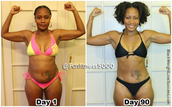 Asia weight loss transformation