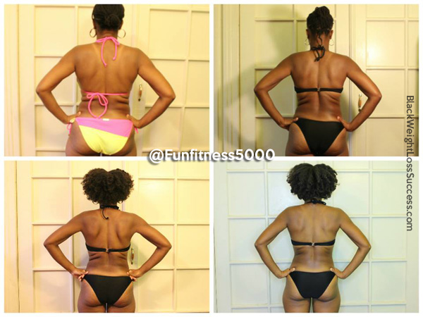 Aisa's 3 Month Weight Loss Transformation | Black Weight
