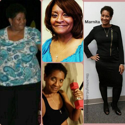 Marnita lost 164 pounds