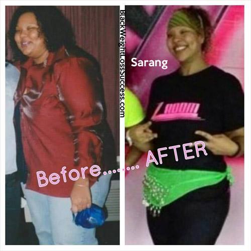 Sarang lost 196 pounds | Black Weight Loss Success