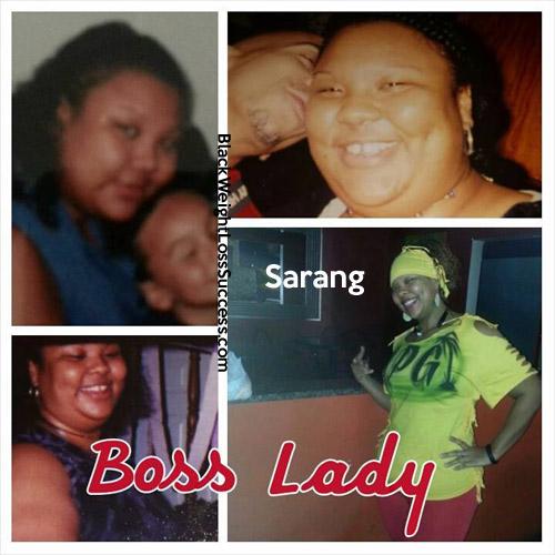 Sarang before and after
