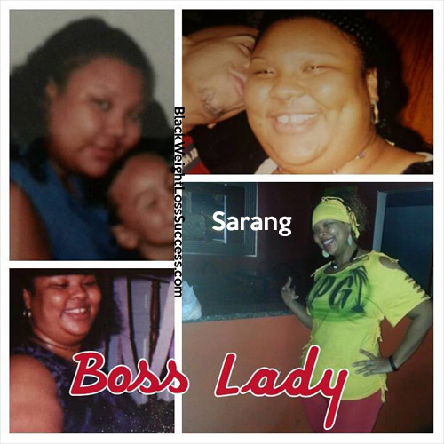 Sarang before and after