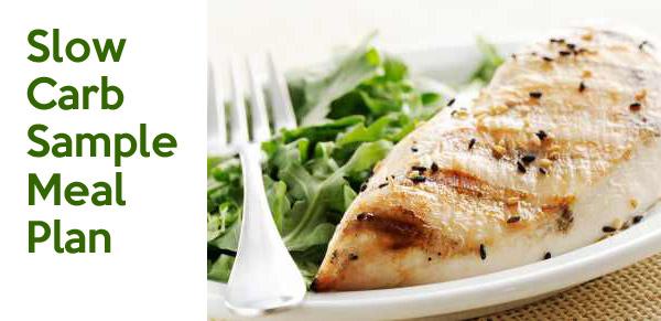 slow carb meal plan