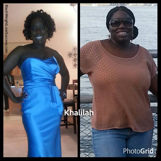 Khalilah before and after