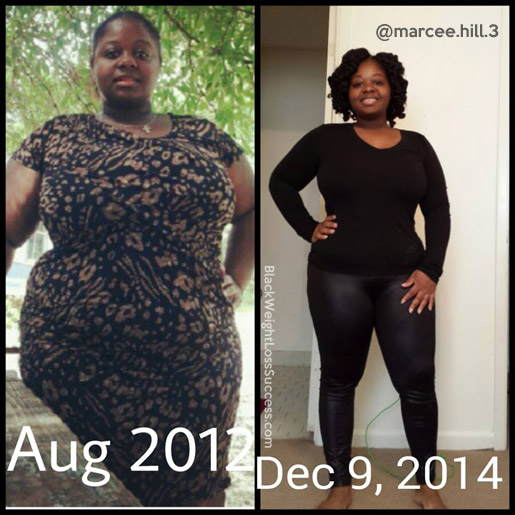Marcee before and after