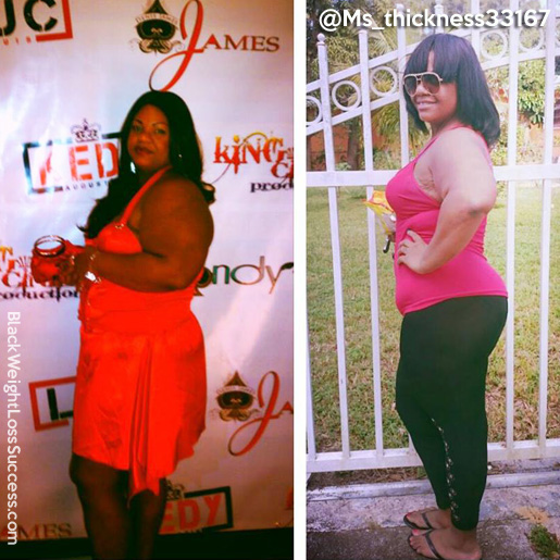 Sophia lost 88 pounds | Black Weight Loss Success