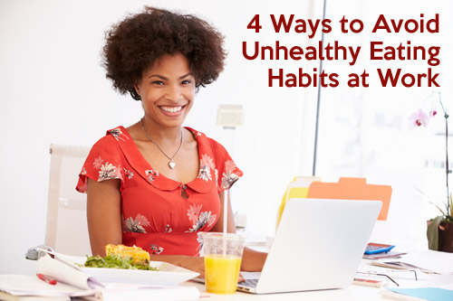 tips for eating healthy at work