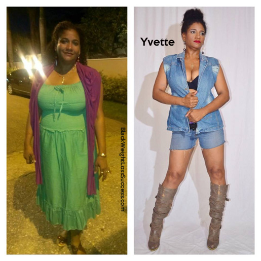 yvette before and after