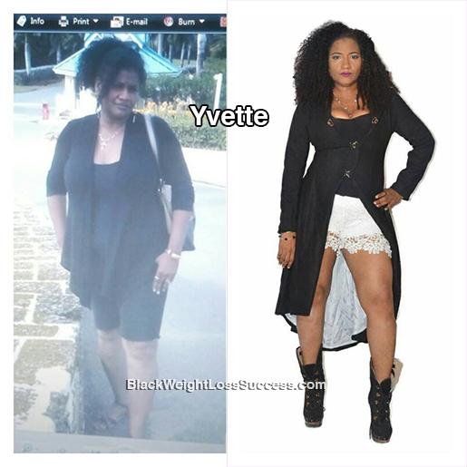 yvette update weight loss