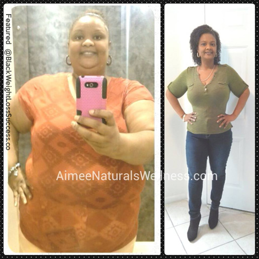 Agosthina before and after