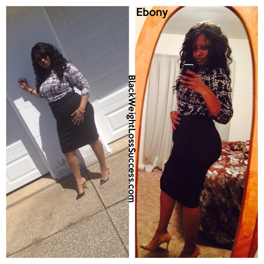 Ebony weight loss story