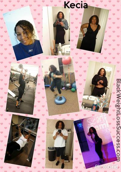Kecia weight loss story