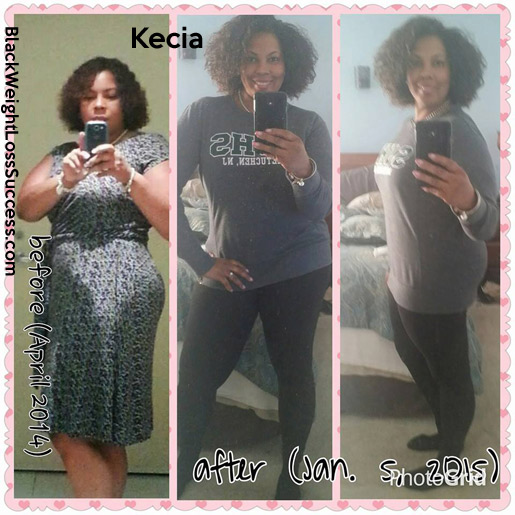 Kecia before and after