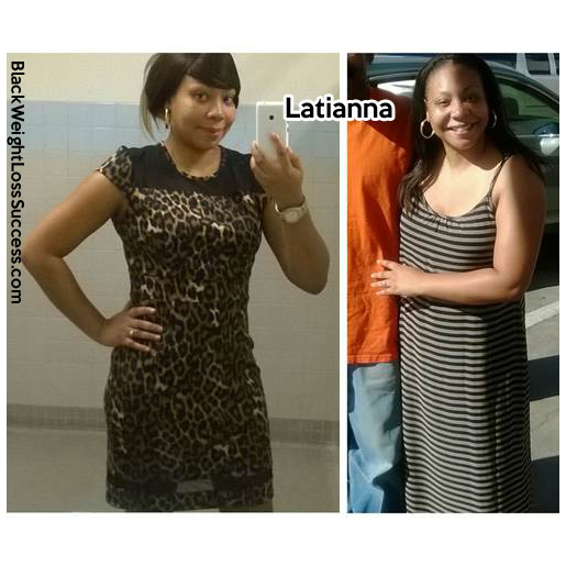 Latianna before and after