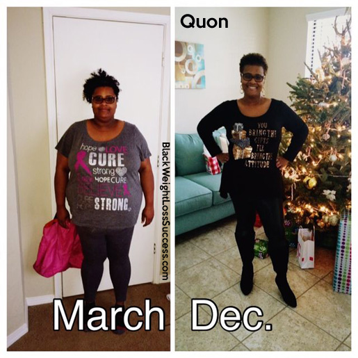 Quon before and after