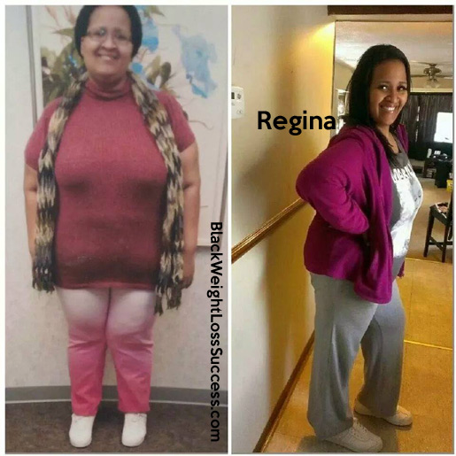 Regina before and after