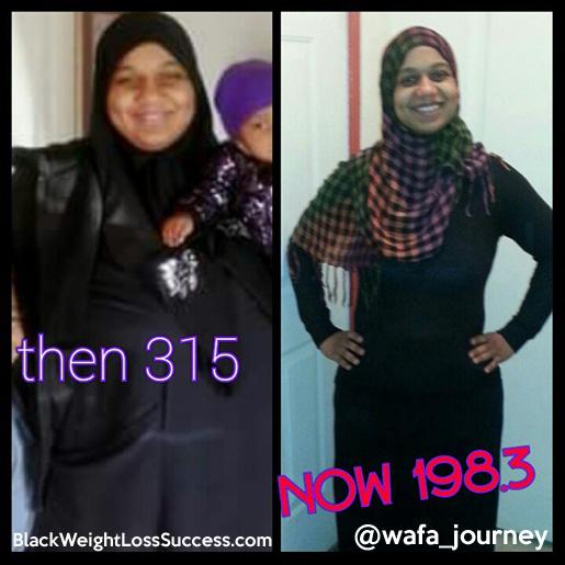 Wafa weight loss story