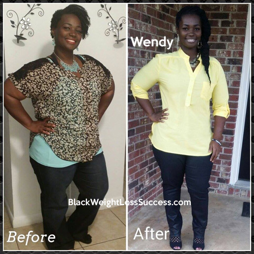 Wendy lost 42 pounds | Black Weight Loss Success