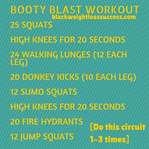 booty blast workout