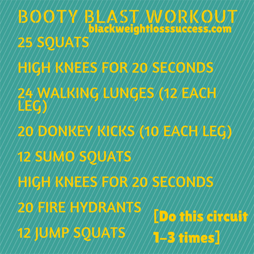 booty blast workout
