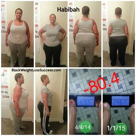 habibah weight loss