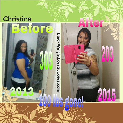 Christina before and after