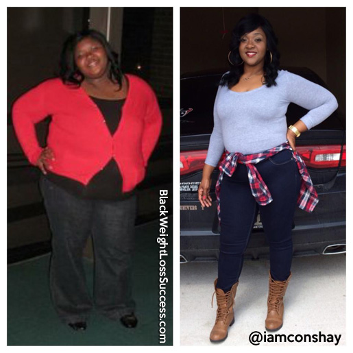 Consha lost 150 pounds