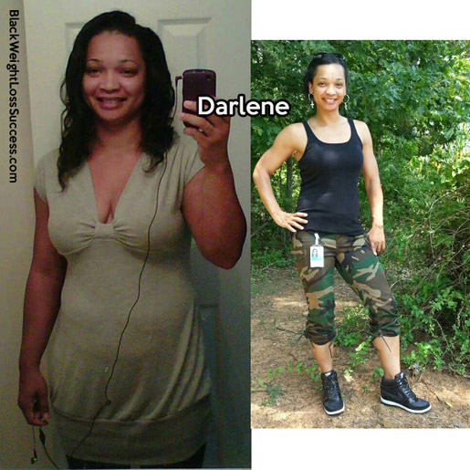 Darlene before and after
