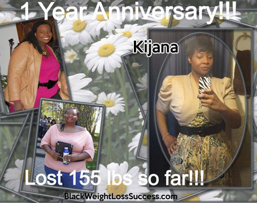 Kijana before and after