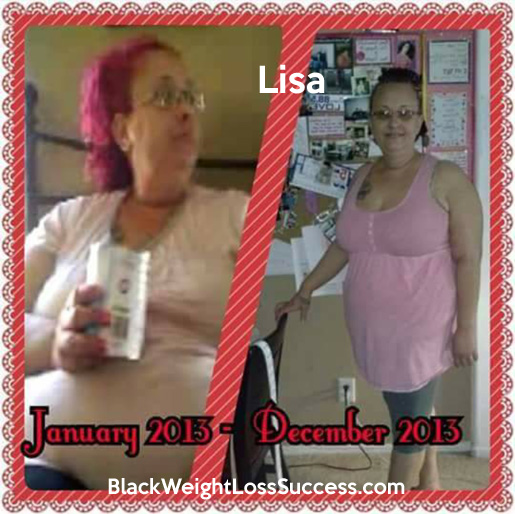 Lisa weight loss transformation