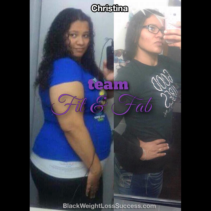 Christina weight loss