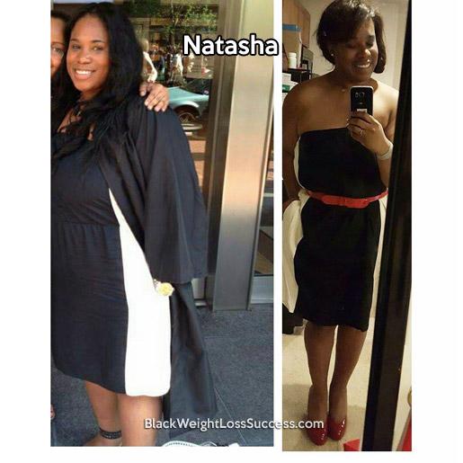 natasha before and after
