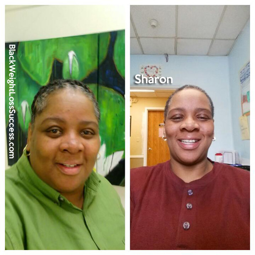 sharon before and after