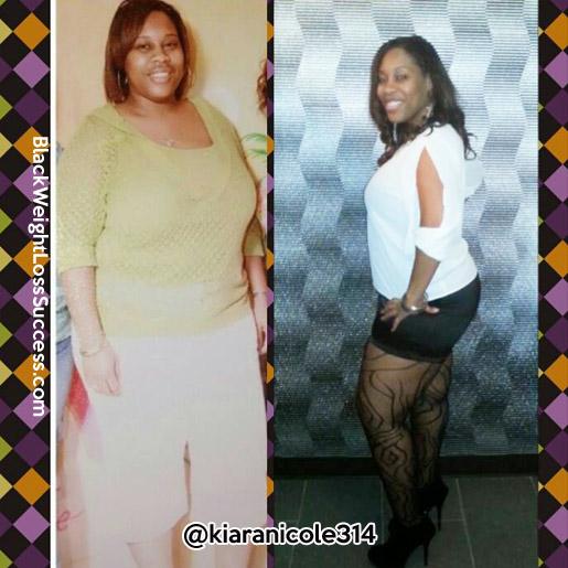 Kiara before and after