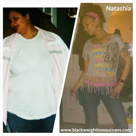 Natashia before and after