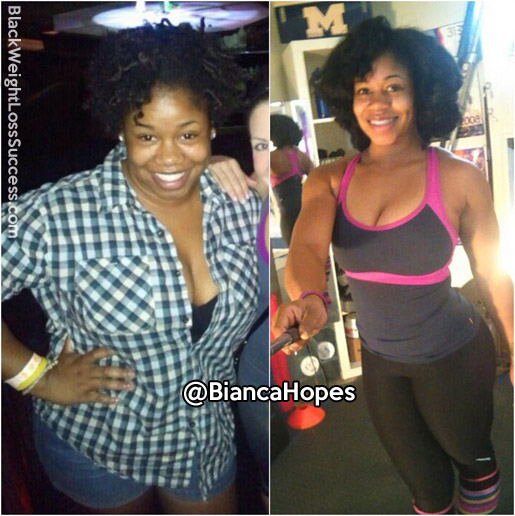 bianca before and after