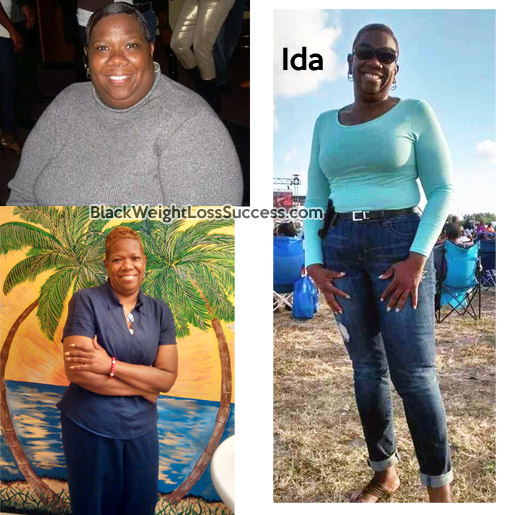 Ida before and after