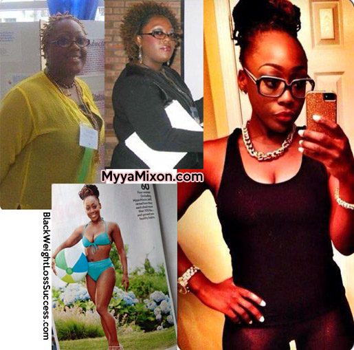myya nixon before and after
