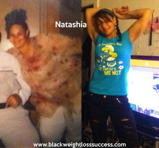 natashia weight loss
