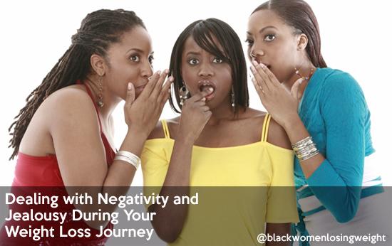 negativity jealousy weight loss