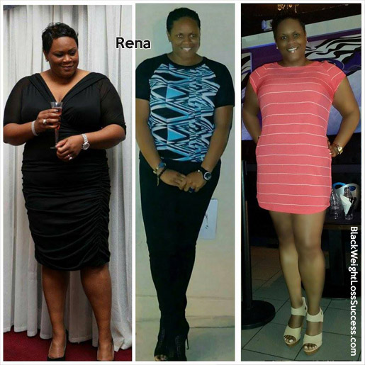 rena before and after
