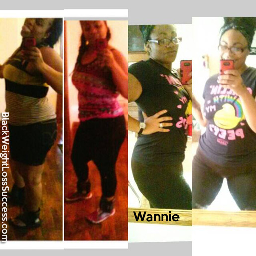 wannie before and after