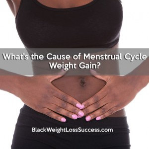 how to lose water weight during period
