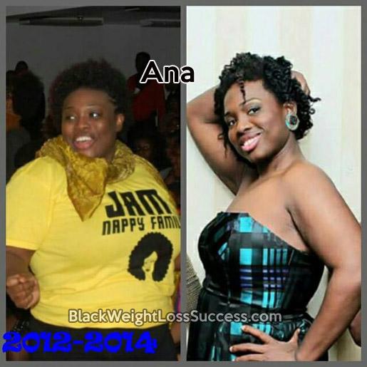 ana weight loss