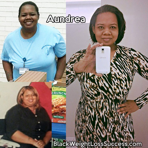 aundrea weight loss