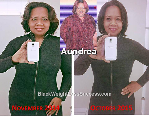 aundrea before and after