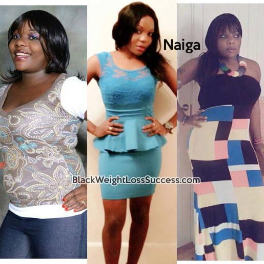naiga before and after